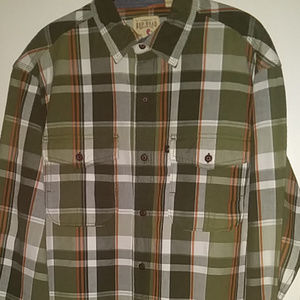 Redhead Long Sleeve Plaid 2 Pocket shirt